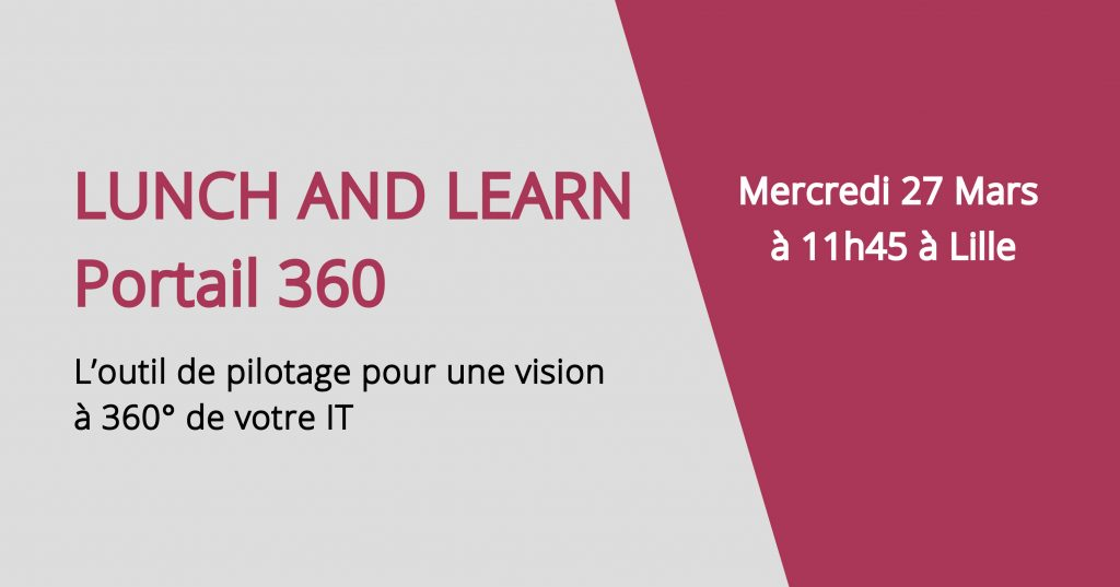 [Lunch & Learn] : Démo portail 360 by Fabrick