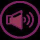 Speakers violet